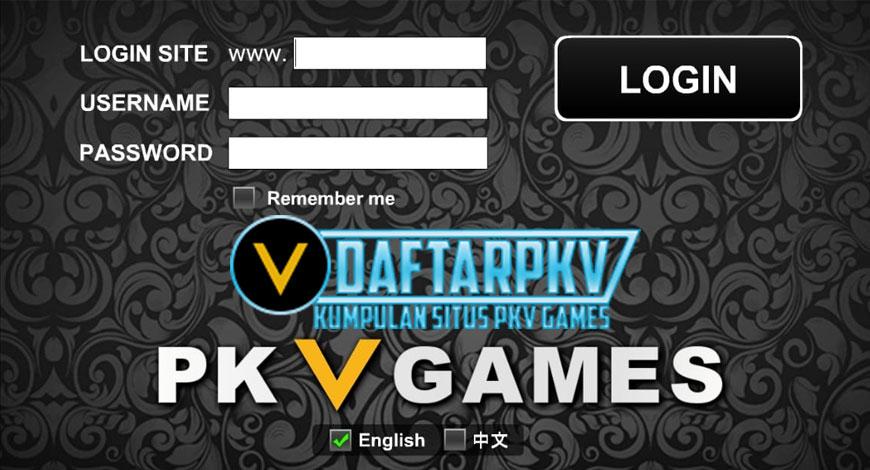 Cara Login Pkv Games